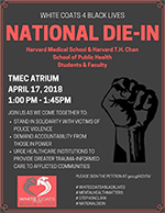 White Coats 4 Black Lives - National Die-In | Harvard Medical School and Harvard T.H. Chan School of Public Health