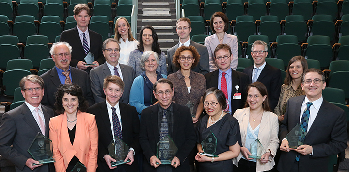 2014-2015 Mentoring Awards Recipients