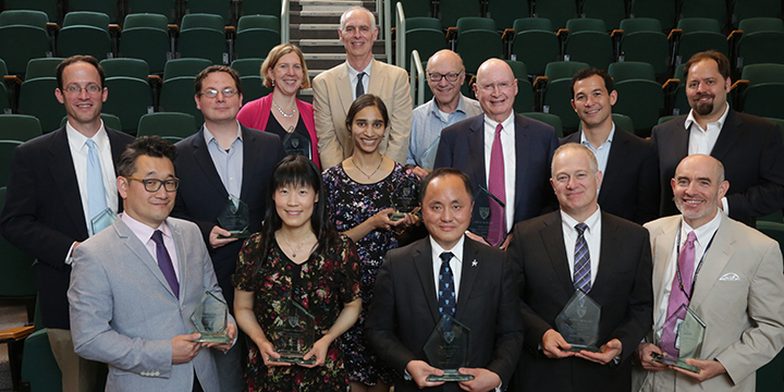 2017 Mentoring Awards Recipients
