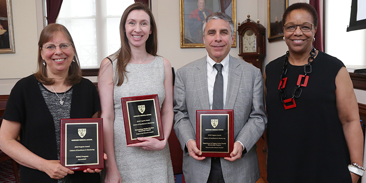 2018 Recipients of theProgram Awards for Culture of Excellence in Mentoring
