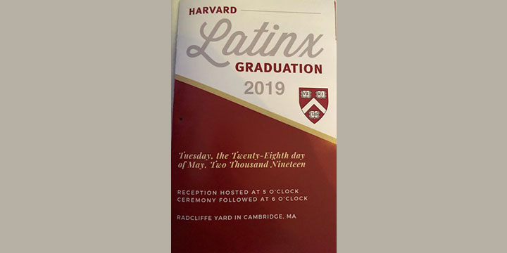 Harvard Latinx Graduation 2019