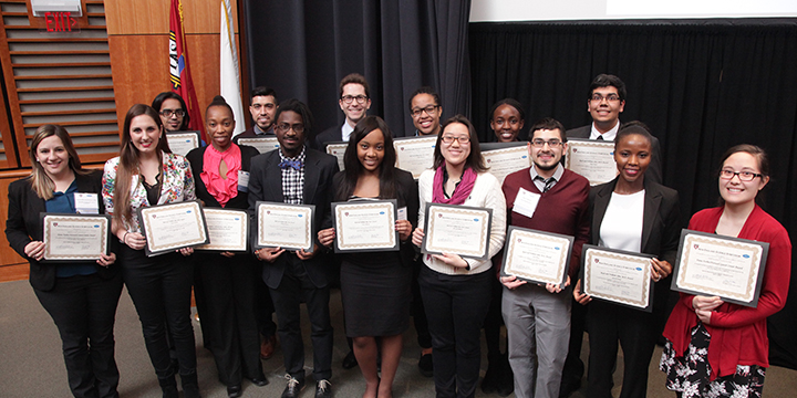 2016 New England Science Symposium Award Winners | Harvard Medical School | Office for Diversity Inclusion and Community Partnership