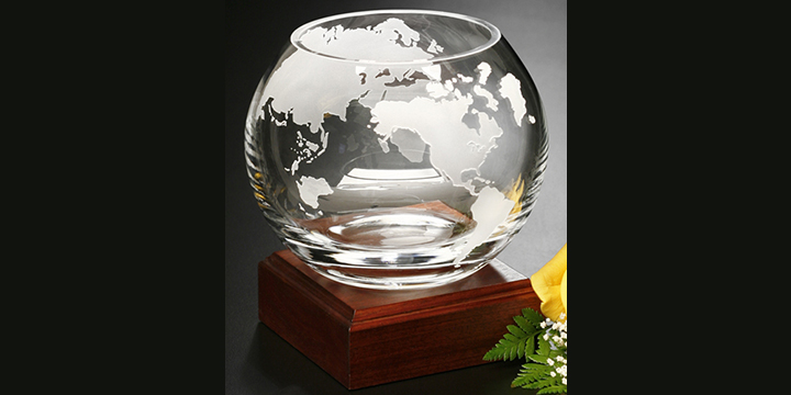 Diversity Awards trophy