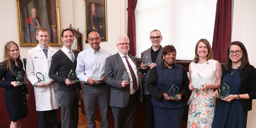2017 Dean's Community Service Award Recipients