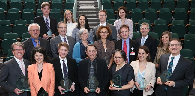 Harvard Medical School Excellence in Mentoring Awards 2014-2015