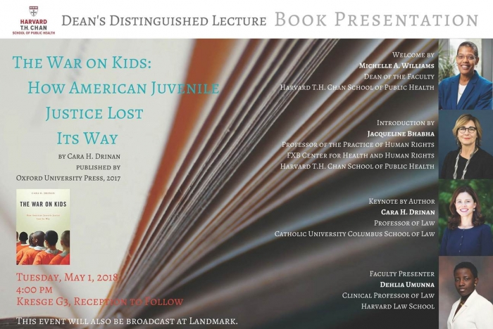 HSPH Book Presentation | The War on Kids: How American