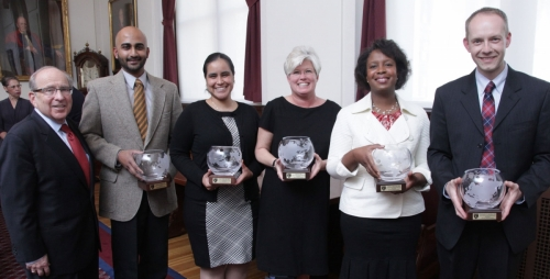 2012 Harold Amos Diversity Award Recipients