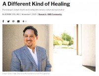 A Different Kind of Healing: Psychologist Joseph Gone's work integrates history, culture and spirituality