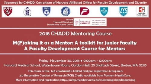 2018 CHADD Mentoring Course
